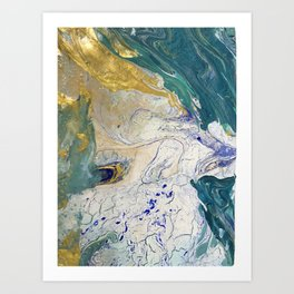 Come Forth as Gold Art Print