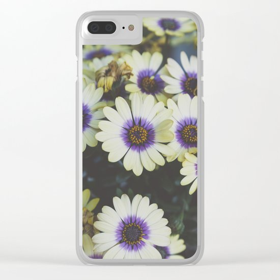 African Daisy Clear iPhone Case
