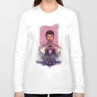 spock Long Sleeve T-shirts featuring Spock by Tsuru
