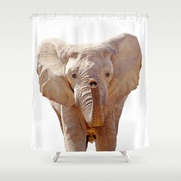 Elephant Art Shower Curtain