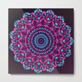 Edna Mandala Metal Print