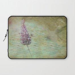 Lady Lavender Laptop Sleeve