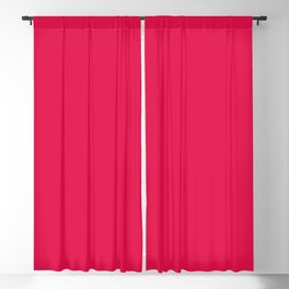 Dancing Color Mandala ~ Red-violet Blackout Curtain