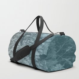 Abstract blue painting Duffle Bag