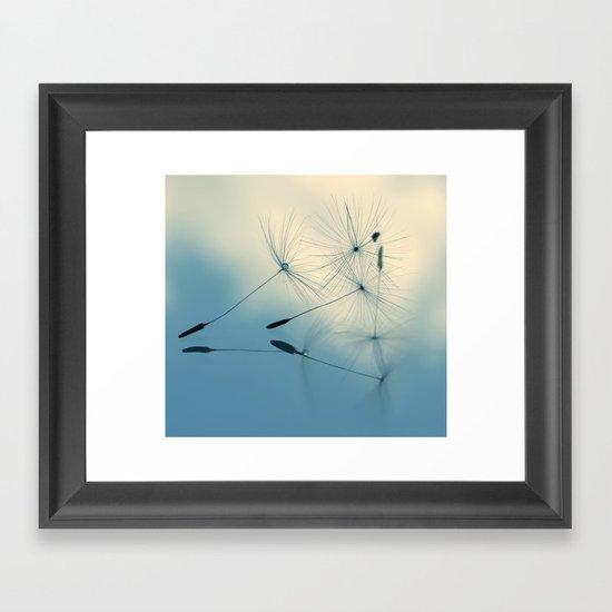 dandelion - cloud nine Framed Art Print