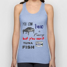 Dad Jokes - Funny Tuna and Tune a Piano Classic Unisex Tank Top