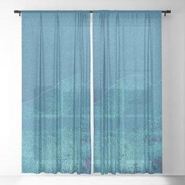 Hunter Mountain Sheer Curtain