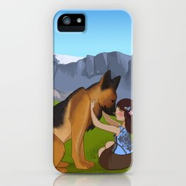 Shepherdess iPhone Case
