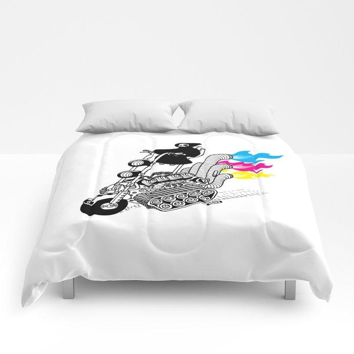Grim Hellraiser Comforters