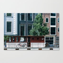A Day in Amsterdam Canvas Print