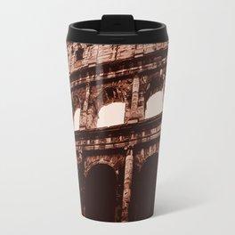 Ancient Colosseum, Rome Travel Mug