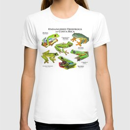 Endangered Treefrogs of Costa Rica T-shirt