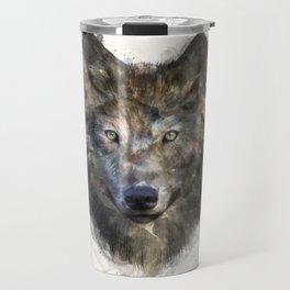 Wolf // Secure Travel Mug