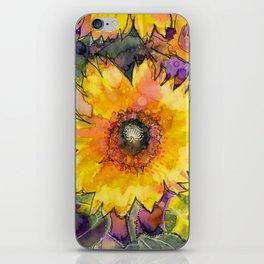 Sunflower Mysteries iPhone Skin