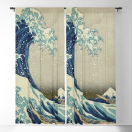 The Great Wave off Kanagawa Blackout Curtain