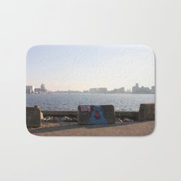 Harbour views from Amsterdam North Bath Mat