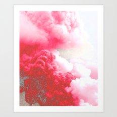 Pink Explosion Art Print