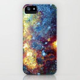 Magellanic Cloud Galaxy Painting iPhone Case