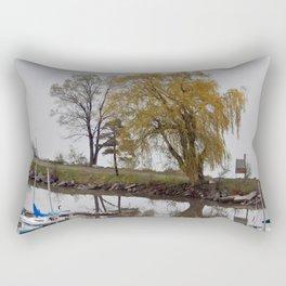 Weeping Willow and the Marina Rectangular Pillow