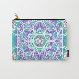 Pschedelic Metatron Carry-All Pouch
