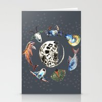 cosmic Stationery Cards featuring Cosmic by AnnaW