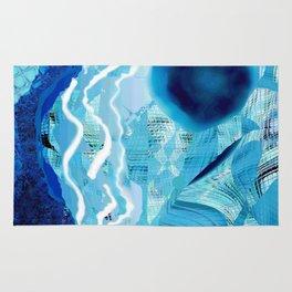 Blue Rivers Rug