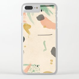 Whimsical Clear iPhone Case
