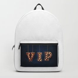 VIP - Very Important Person -  Wall-Art for Hotel-Rooms Backpack