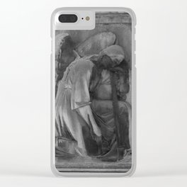 ancient angel Clear iPhone Case