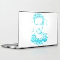 jesse pinkman Laptop & iPad Skins featuring Breaking Bad - Blue Sky - Jesse Pinkman by Karolis Butenas