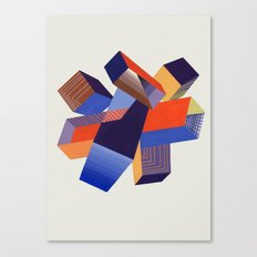 Geometric Painting by A. Mack Canvas Print