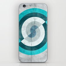 Blue Chaos iPhone & iPod Skin