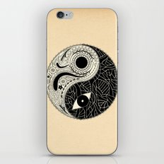 - yin & yang - [collaborative art with famenxt] iPhone & iPod Skin
