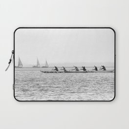 Sailboats and Kayaks Laptop Sleeve