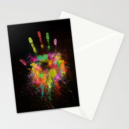 Artist Hand (1) Stationery Cards