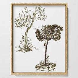 Tree 1-2 Serving Tray