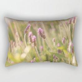 Lavander at sunset Rectangular Pillow