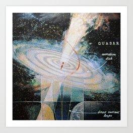quasar Art Print