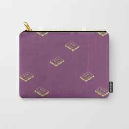 Cassette Tapes- Purple Carry-All Pouch