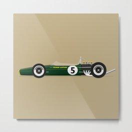 67 Lotus F1 Metal Print