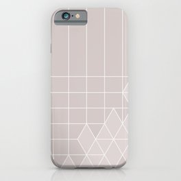 ice pink iPhone Case