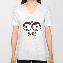 Bmore Pride - Men Unisex V-Neck