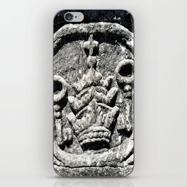 Ancient Church Carvings iPhone Skin
