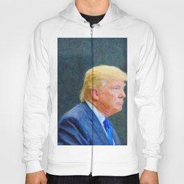 Portrait  of President Donald Trump Hoody