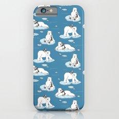 Polar Bear Loves Penguin iPhone 6 Slim Case