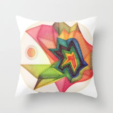 Use Your Colors Throw Pillow