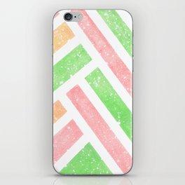 Tutti Frutti Stripes iPhone Skin