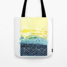 Seigaiha Series - Embrace Tote Bag