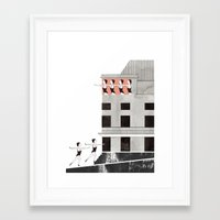 theatre Framed Art Prints featuring Theatre by Ana Frois