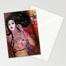 Blood Bath  Stationery Cards